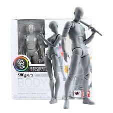 S.H. Figuarts él ella cuerpo Kun Conjunto de color gris versión DX Cuerpo-CHAN PVC Figura de acción