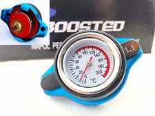 1.1 Bar Thermostatic Radiator Cap 16 PSI Pressure Rating & Temperature Gauge Cap