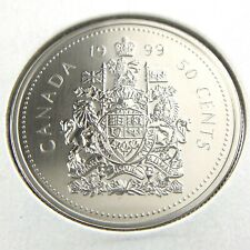 1999 Canada 50 Cents Half Dollar Specimen Uncirculated Canadian Coin Fifty N684