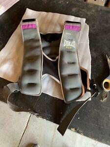 Everlast 10lb Weighted Training Vest Gray/Purple