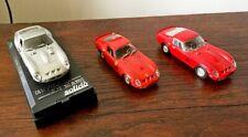 LOT 3 FERRARI 250 GTO IN 1/43 SCALE n/ BBR AMR MINICHAMPS DINKY CORGI