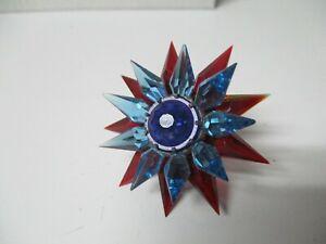 C-6 ILLUMIBRITE MATCHLESS STAR Xmas Light - Red Aqua Cobalt