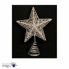 Adornos de metal color principal plata para árbol de Navidad
