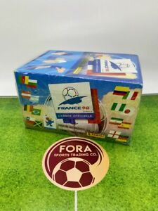 Panini France 1998 98 Worldd Cup - Factory Sealed Box Of 100 Packets