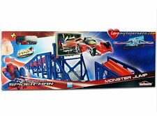 1.50 M De Largo Nuevo Juguete The Amazing Spiderman Monster Jump Conjunto De Pista Lanzador De Mano