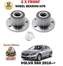 per VOLVO S80 AS T4 T5 T6 AWD 2007> NEW 2 X ASSE ANT cuscinetto ruota mozzo