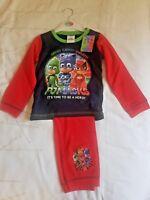 Character Boys Toddler 3-4 yrs PJ Masks Pyjamas