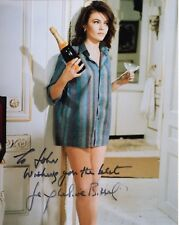 Jacqueline Bisset Authentic Signed 8x10 Color Photo Very Sexy Pose To John