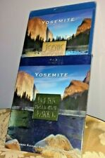 SCENIC NATIONAL PARKS: YOSEMITE [BLU-RAY] comes with slip cover