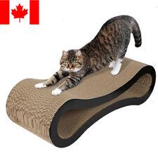 Cardboard Cat Rest Scratching Lounge Bed Kitty Kitten Pet Play Scratcher