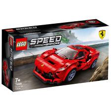 Lego Speed Champions Ferrari F8 Tributo Sports Car Building Set - 76895