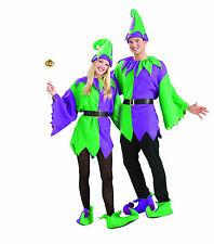 Jolly Jester Adult Mardi Gras Costume Adult Unisex Size Standard
