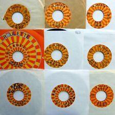 Tommy James & Shondells lot of 9x45rpm singles on Roulette pop rock 1960s d2361