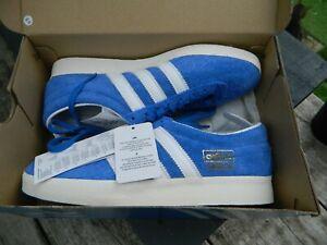 Adidas Originals Gazelle Vintage Blue Suede Trainers FU9656 Size UK 6.5