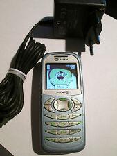 Sagem myx-2 argent/bleu clair simfrei Chargeur de batterie super OK Gebr 22 H