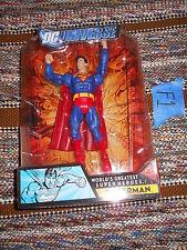 F1_8 DC Universe Classics Lot SUPERMAN World's Greatest Super Heroes All Stars