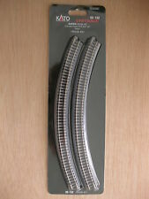 Kato - ref.20-132 - 4 vías curvas R348, 45º (radio 4 = 348 mm)