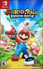 Mario + Rabbids Reino batalla Nintendo Switch Juego (#)