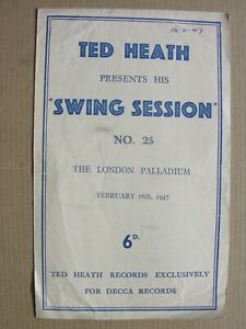 1947 TED HEATH SWING SESSION Kenny Baker Jimmy Edwards Hamish Menzies Parnell 25