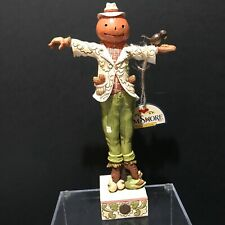 Jim Shore Heartwood Creek 2018 Harvest Scarecrow Figurine #6001543