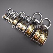 43mm 58 86mm Swivel Pulley Sheave Rigging Metal Lift Hoist Rope Hanging Lifting