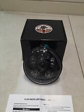 "5.75"" LED 45W Headlight Lamp Harley Davidson Ducati Cafe Racer Motorcycle 545"