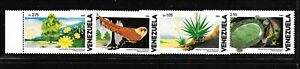VENEZUELA Sc 1267-70 NH issue of 1982 - NATURE PROTECTION