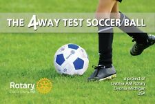 Rotary 4-Way-Test Soccer Ball with 16 Languages