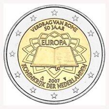 """NEDERLAND SPECIALE 2 EURO 2007 """"VERDRAG VAN ROME 50 JAAR"""""""