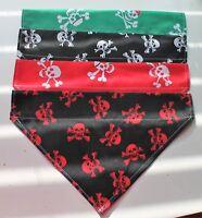 Dog Bandanas, Skulls, slip on collar, Bell n Boo, S - 4XL