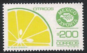 pe055a Mexico Exporta MNH paper 3 Sc#1584a Mc#2116z Et#ex055a, green olive