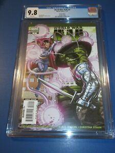 World War Hulk #4 Romita Dr. Strange Variant CGC 9.8 NM/M Gorgeous Gem Wow
