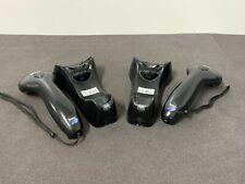 Lot Of 2 Metrologic Ms9535 Voyager Bluetooth Handheld Bluetooth Scanner Withcradle