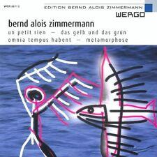 Zimmerman / Luz / Collegium Novum - Un Petit Rien [New CD]