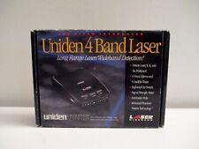 Uniden Stalker LRD 2100W 4 Band Laser Radar Detector NOS! in Box Free Shipping!