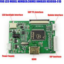 HDMI 50P 40P TTL LCD Controller Board for HE080IA-01D HJ080IA-01E 1024x768 Panel