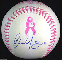CARLOS MARTINEZ SIGNED PINK MOTHERS DAY BASEBALL ST LOUIS CARDINALS COA J15