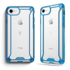 For iPhone 7 / iPhone 8 Case, Slim Fit Durable Shockproof Protective Cover Blue