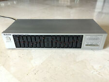 7-band dual graphic EQUALIZER TECHNICS SH-8028, 1987