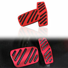Brake Gas Pedal Cover Mat For Chevrolet Cruze Cadillac XTS Buick Regal Parts Red