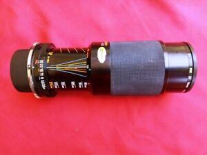 Tamron Adaptall 2 CF Tele Macro 80-210mm Camera Lens 1:3.8 1:4/210 for Nikon