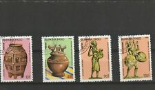 Burkina Faso 1985 Artifact's Set of 4 CTO
