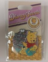 Winnie the Pooh Disney Scents Pin Scratch and Sniff Trading New & Sealed