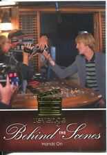 Revenge Season 1 Behind The Scenes Chase Card BTS-08 Hands On