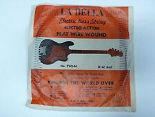 Labella Vintage Bass guitar string single 2nd D New Old Stock