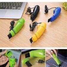 Mini Computer Car Vacuum USB Keyboard Cleaner PC Laptop Brush Dust Cleaning Kit
