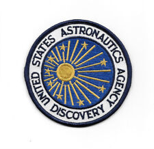 2001: A Space Odyssey Discovery Astronautics Logo Embroidered Patch, NEW UNUSED