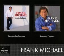 FRANK MICHAEL - COFFRET 2CD (ECOUTER LES FEMMES & BONJOUR L'AMOUR)  2 CD NEW+