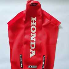 SEAT COVER HONDA XR600R Xr600 GRIPPER RED & WHITE FAST SHIPPING