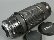 Nikon AF-NIKKOR 4,5-5,6/75-300 + 2 Deck., 75-300mm f/4,5-5,6 TOP Excellent